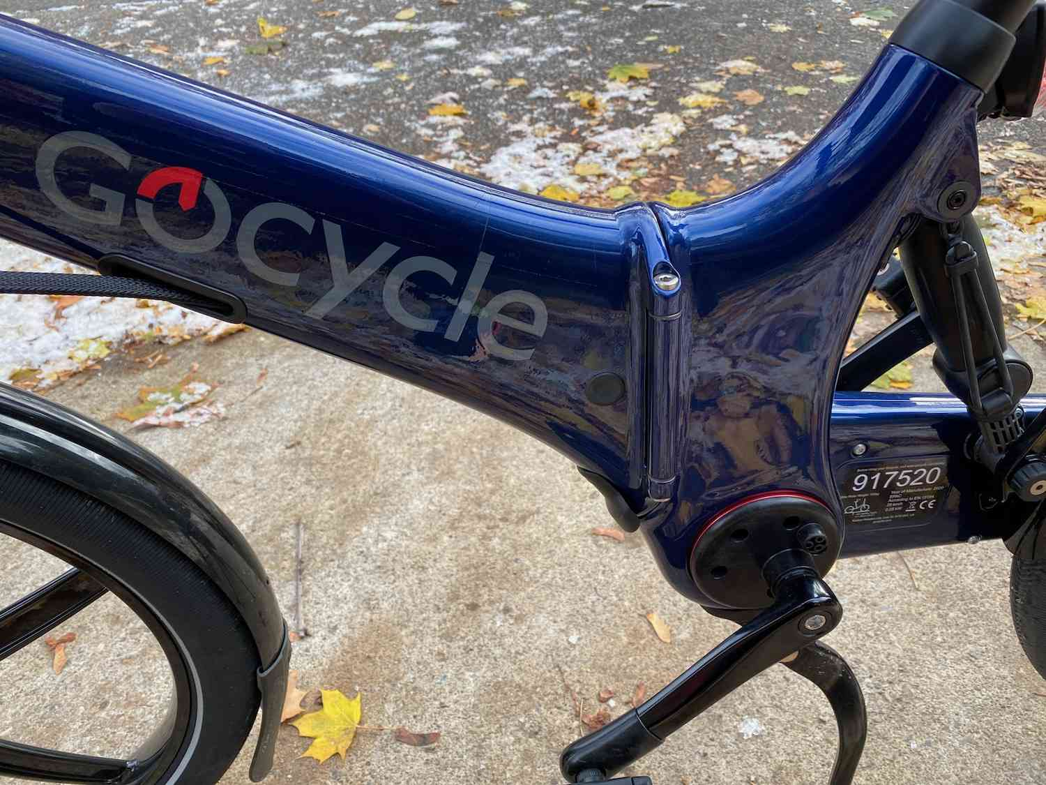 Gocycle middle