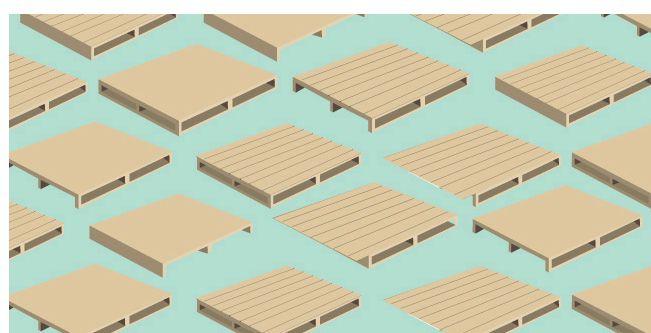Cómo transformar paletas en material
