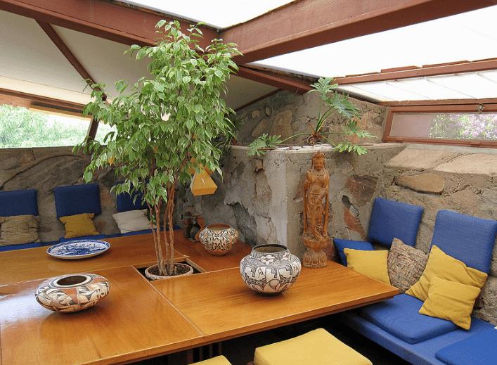 Taliesin West living room