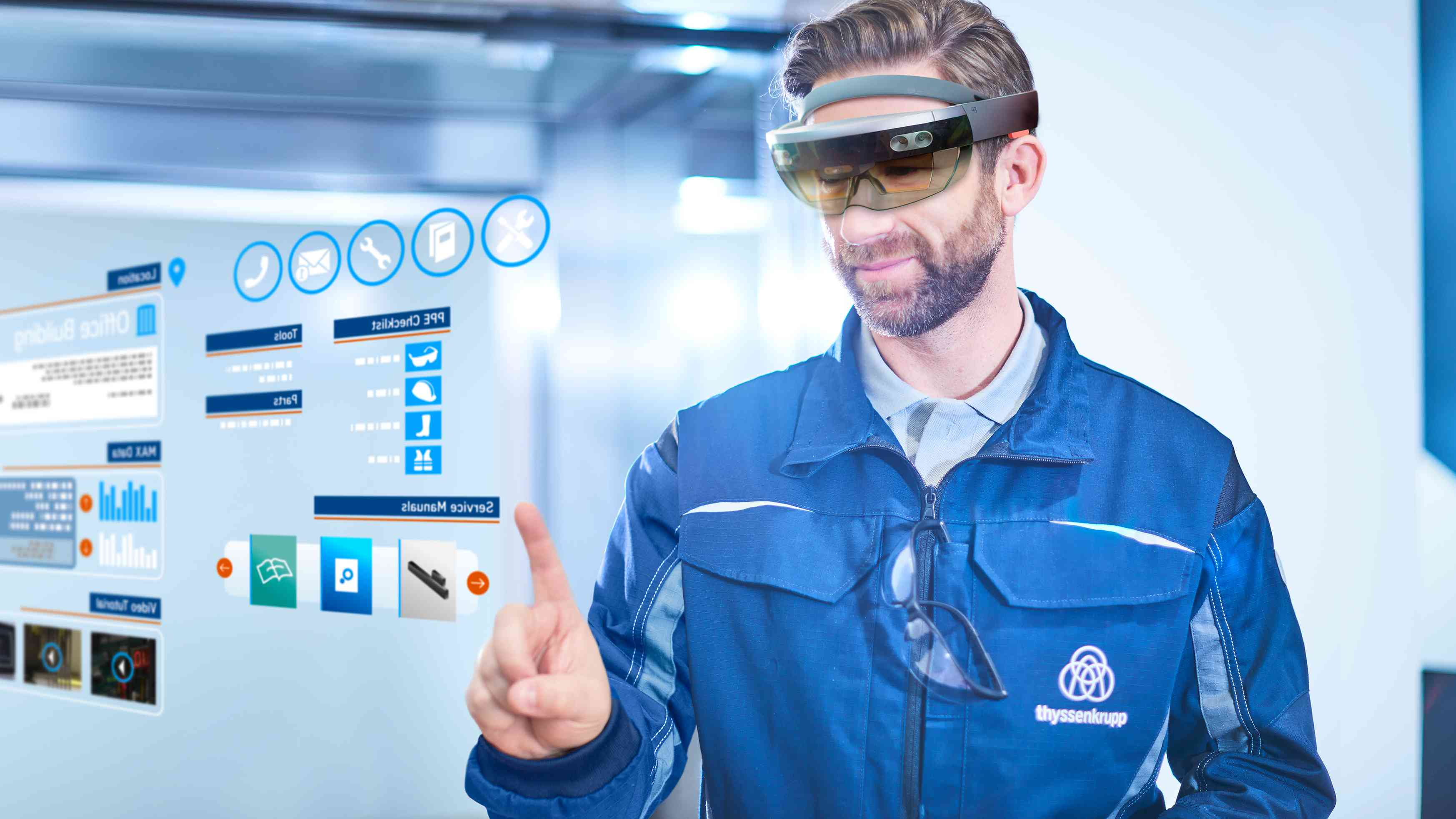 service with hololens