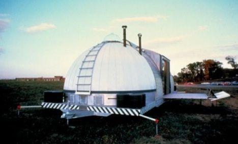 exterior of 1979 autonomous house