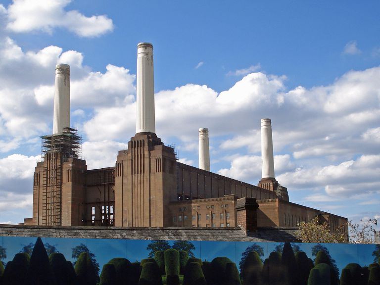 Battersea Power Station from Pink Floyd's Animals.