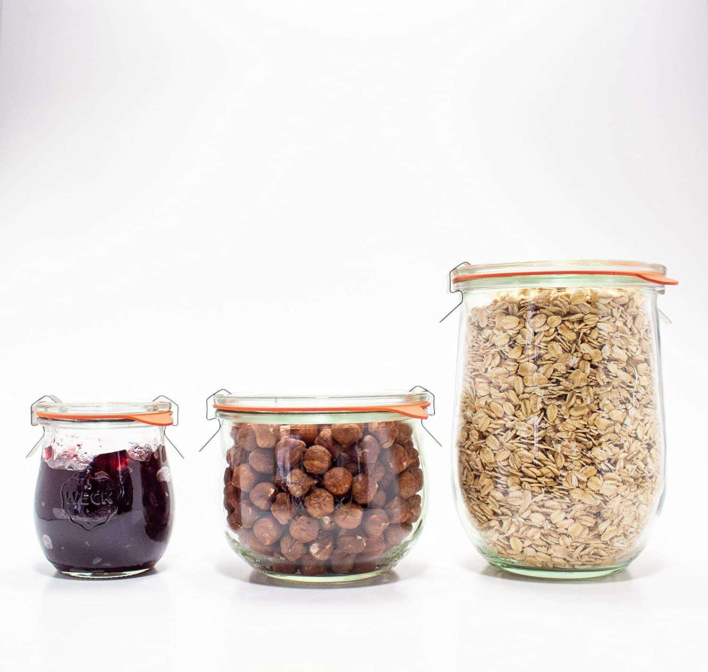 Weck Storage Jars