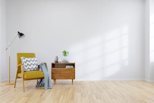 Furniture in apartment