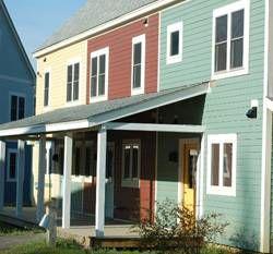 Sawyer Hill EcoVillage homes