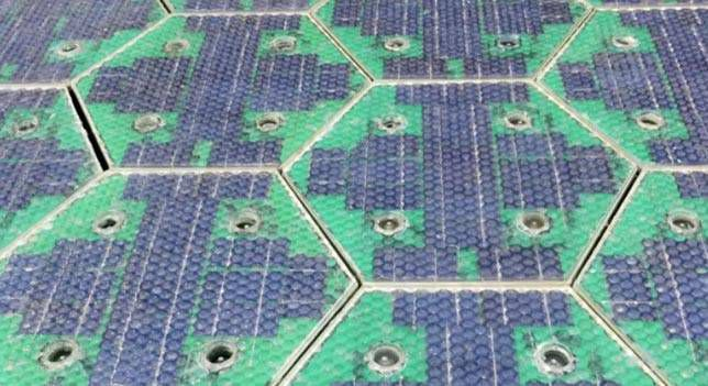 Solar roadways panel