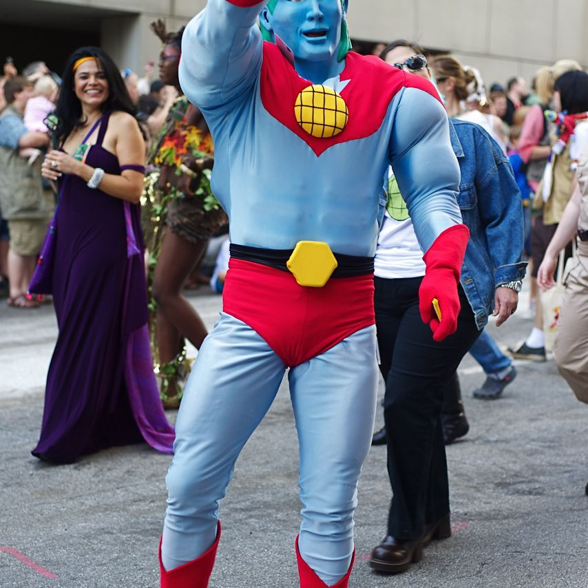 Captain Planet is a true environmental superhero