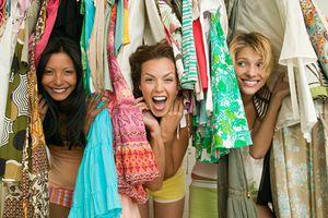 friends in a closet