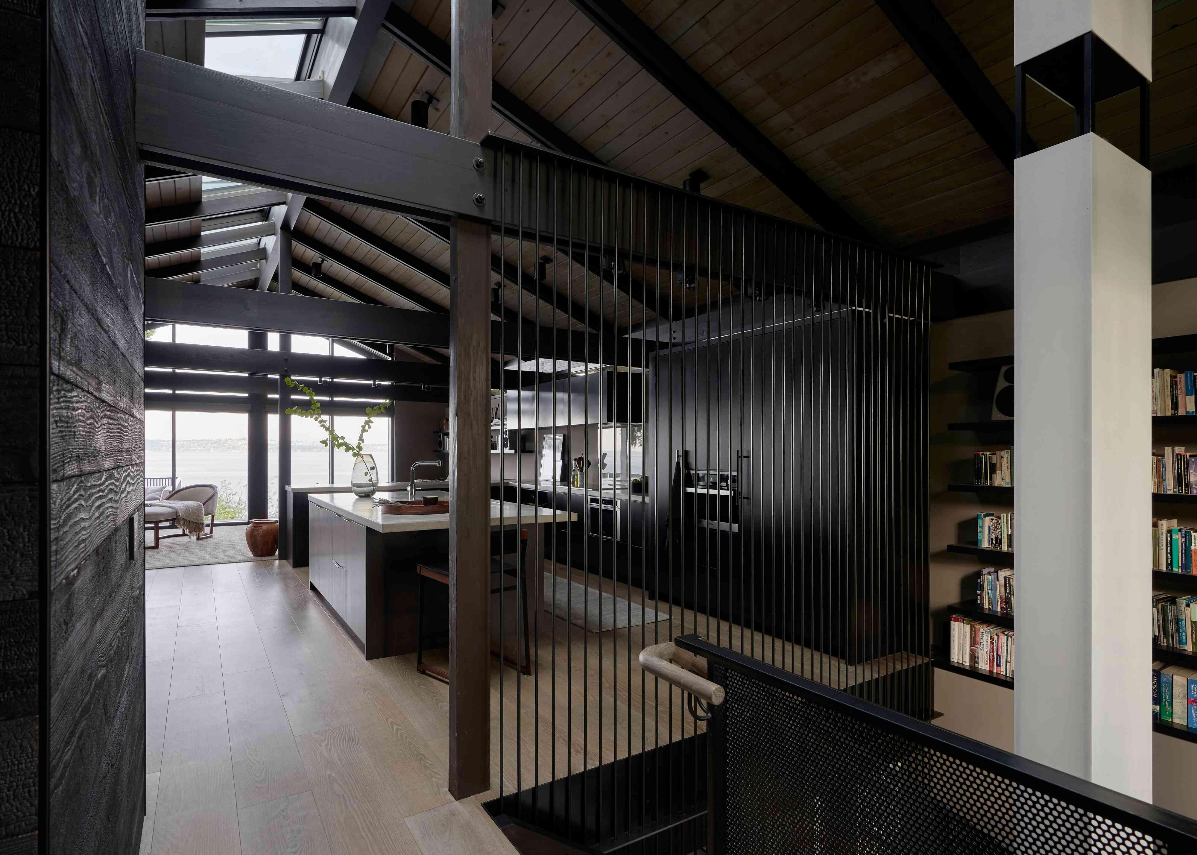 Interior modernist design