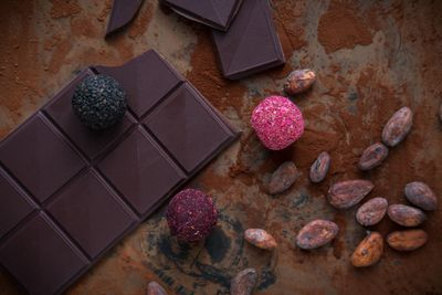 vegan chocolate for Valentine's Day