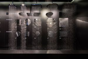 Lots of Rain-style shower heads
