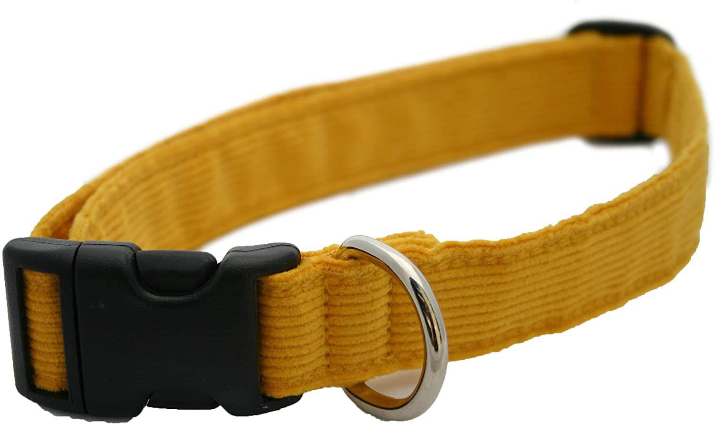 The Good Dog Company Hemp Corduroy Dog Collar