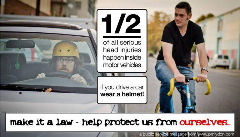 drivers should wear helmets