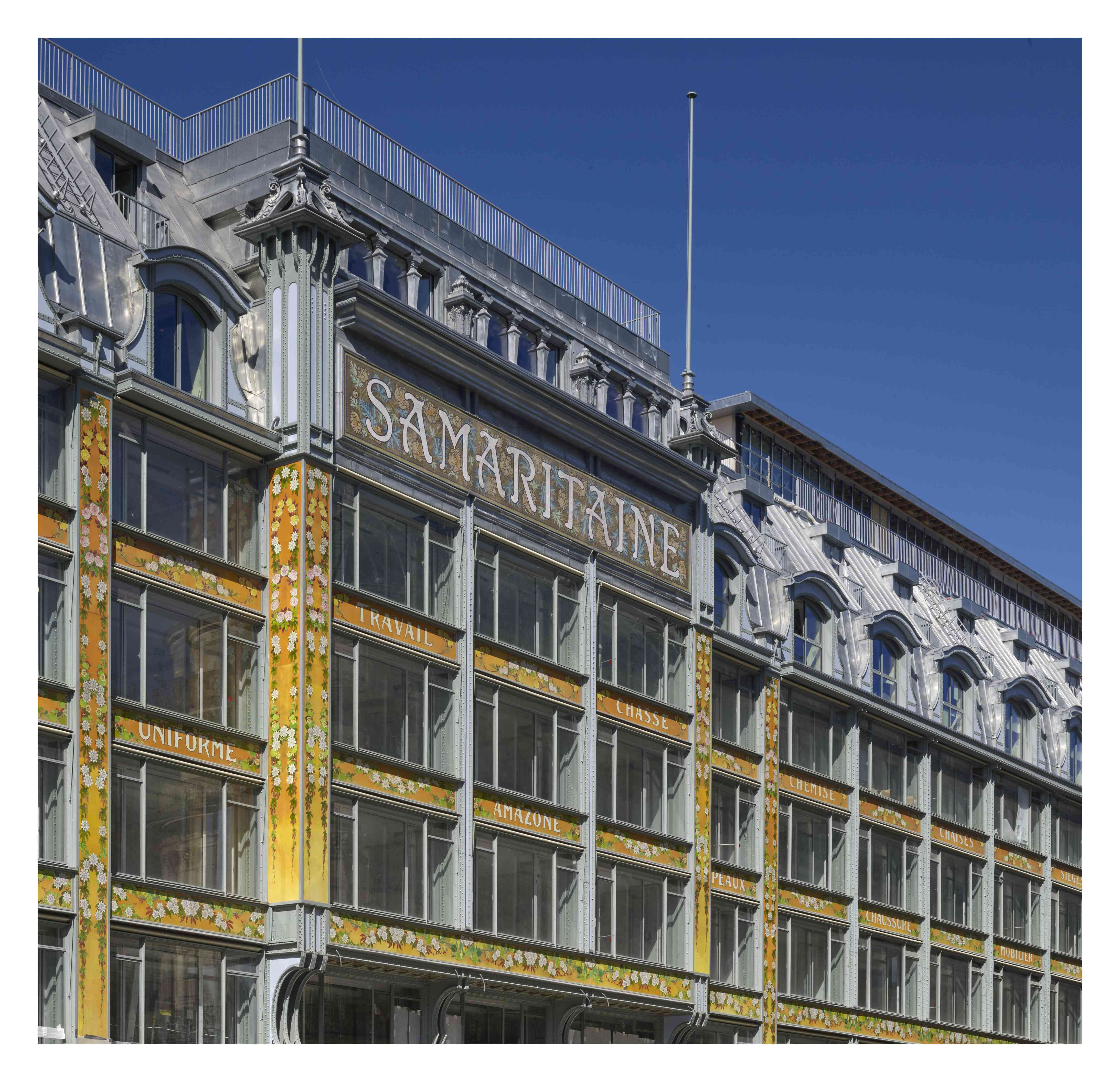 larger view of the art nouveau facade