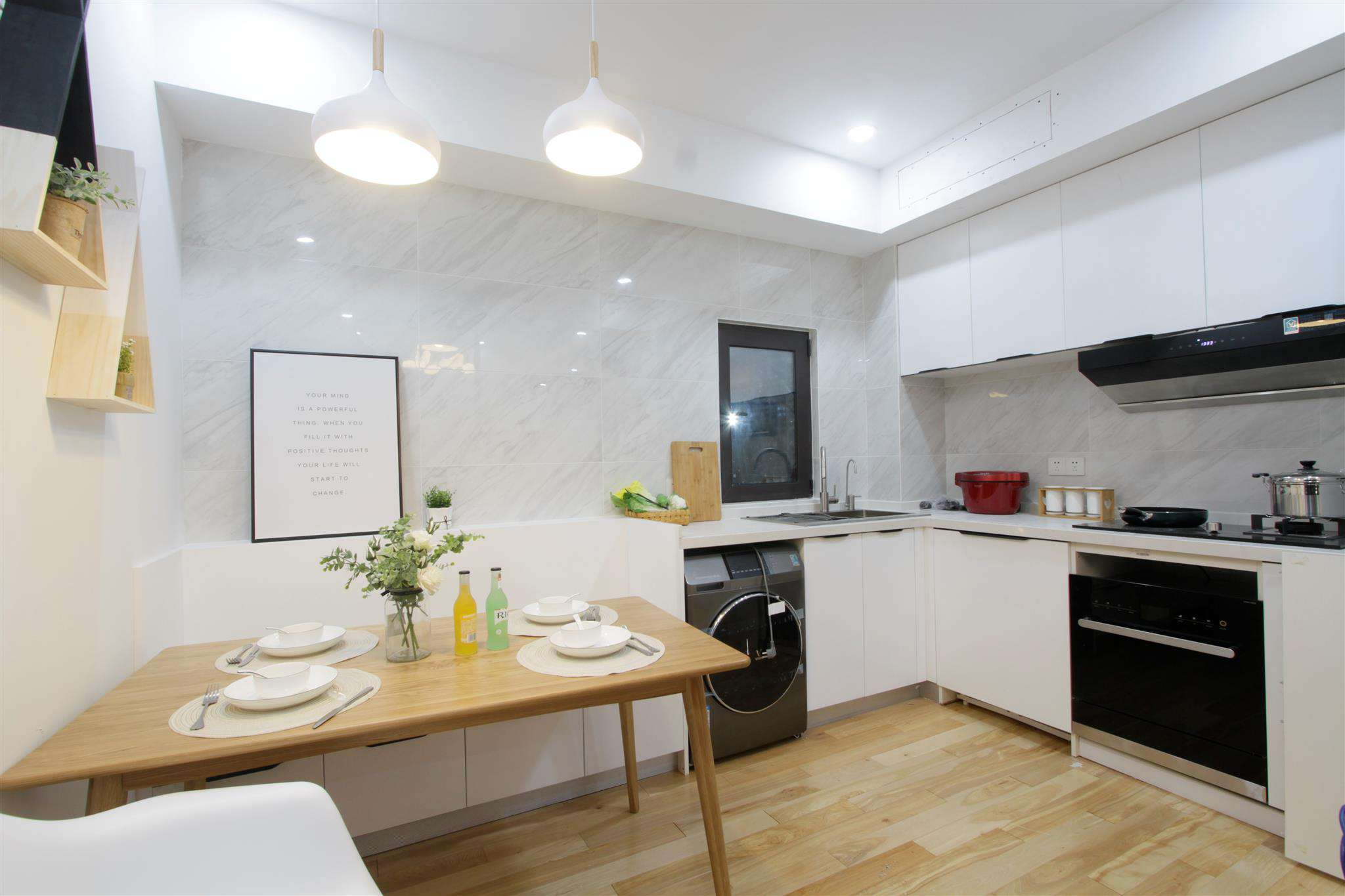 Finished Interior, kitchen