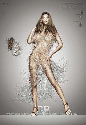 Gisele Bundchen's Ipanema Sandals Ad