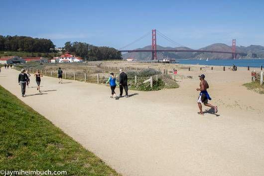 San Francisco Crissy Field trails