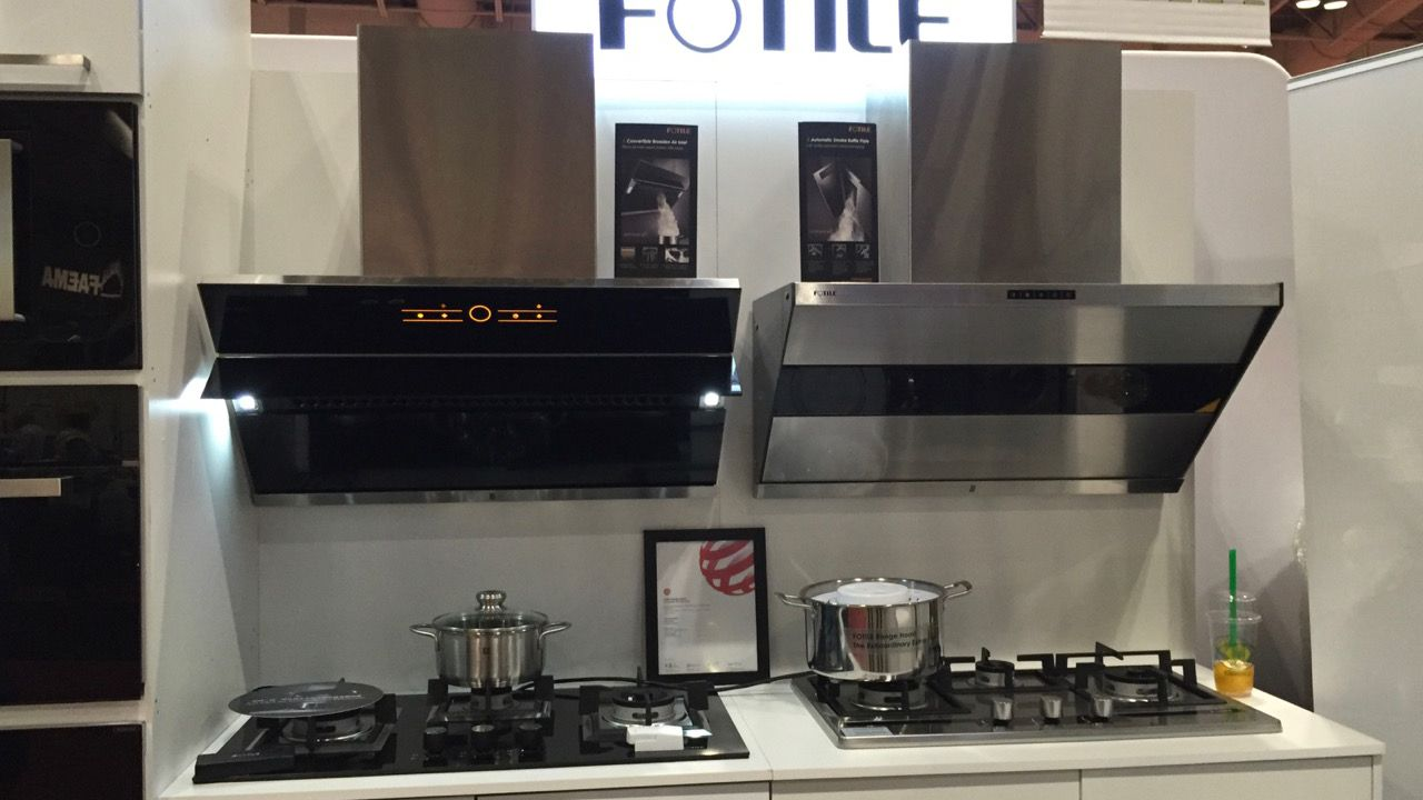 Chinese Manufacturer Fotile Designs An Exhaust Hood That Actually Exhausts