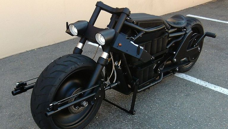 Batman S Badass Batpod Electric Motorcycle For Sale On Ebay Only 27 500