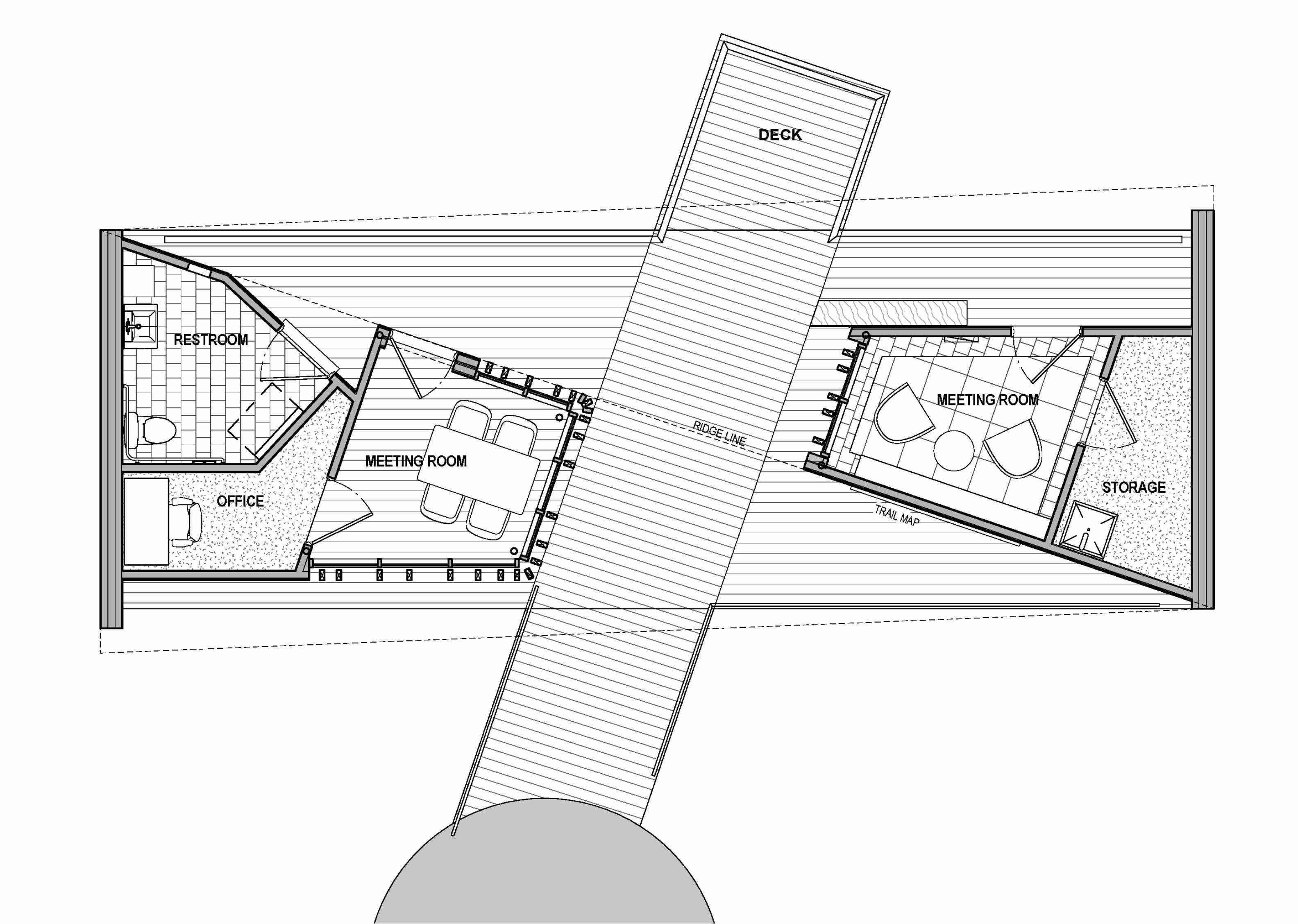 Plan of building