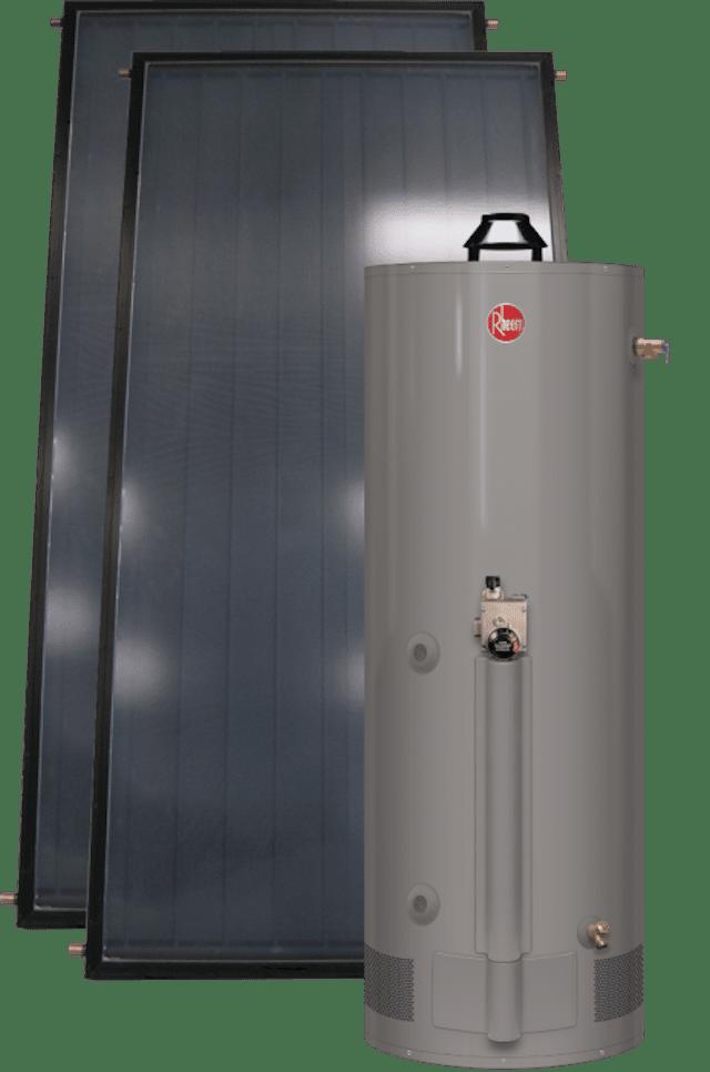 Rheem Featuring Gas Assist Heat Exchange Tank