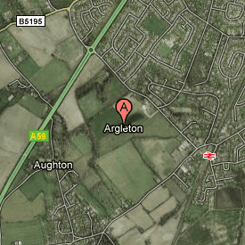 Argleton on Google Maps