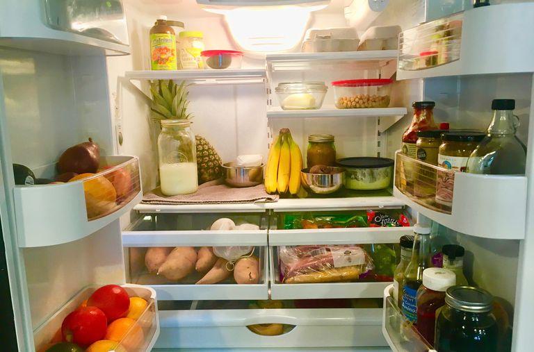 Anna's family fridge