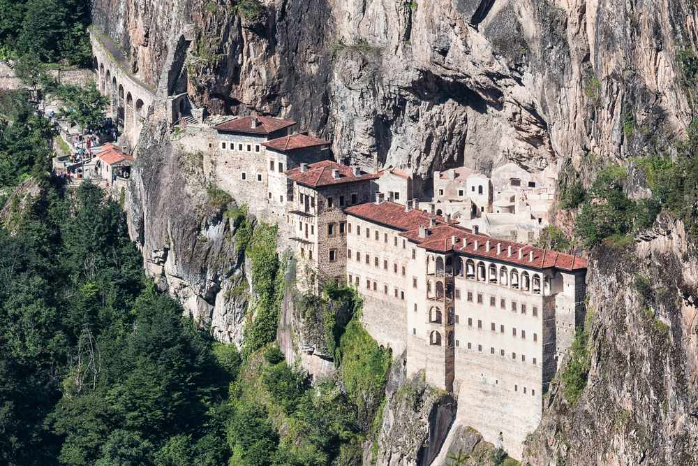 Sumela Monastery in the Trabzon Province of Turkey