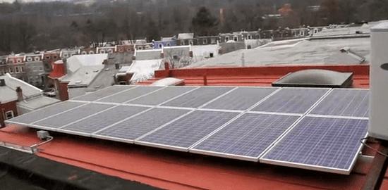 Solar coop community photo