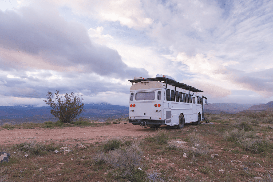 A bus conversion project from Natural State Nomads