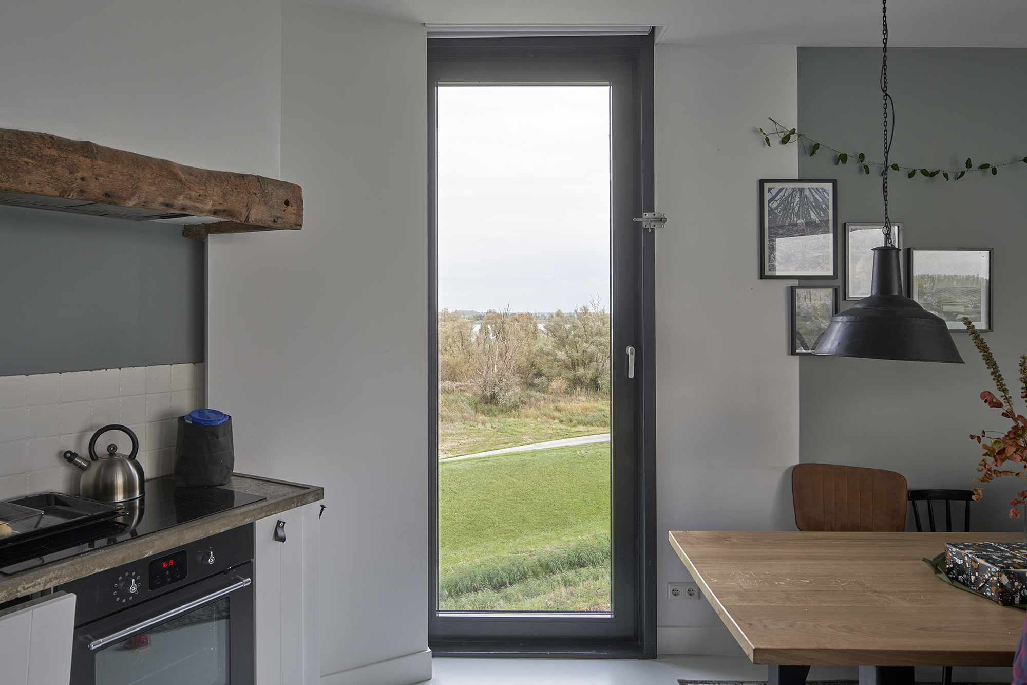 Dutch Water Tower family home RVArchitecture kitchen
