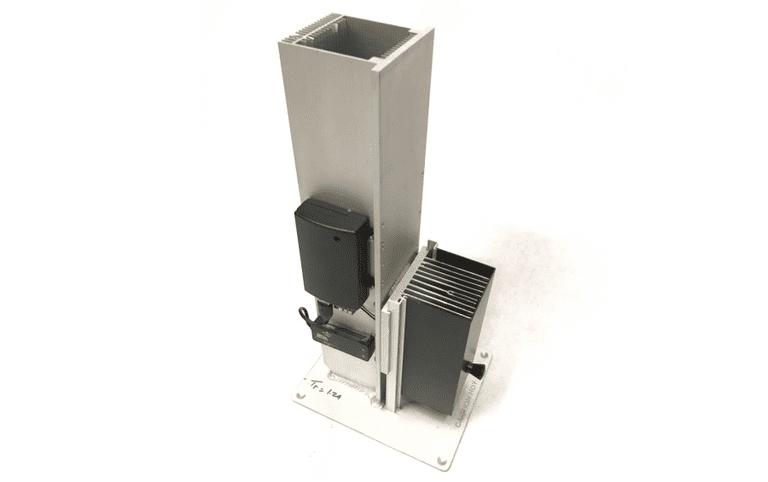 La torre de energía FireBee convierte cualquier fuente de calor en un generador de electricidad