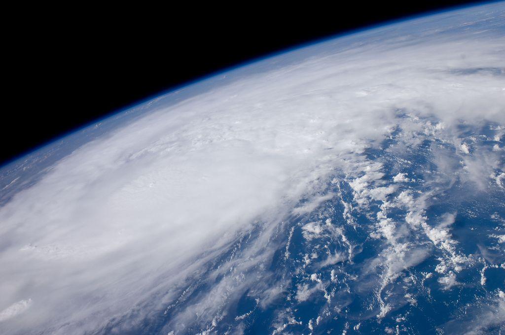 Hurricane Irene seen from the ISS