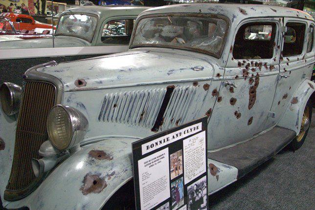 Bonnie and Clyde's getaway car