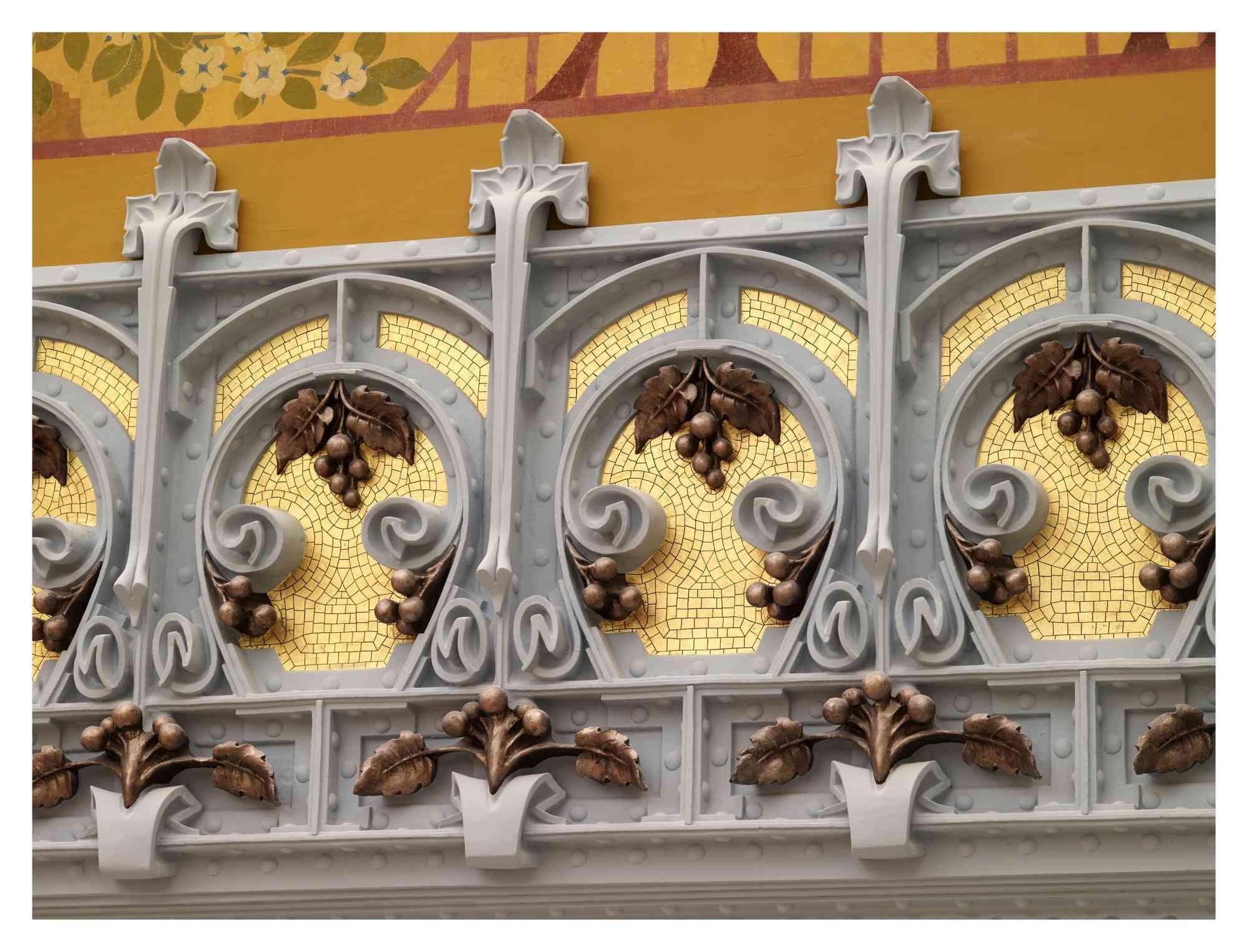 detail of restoration
