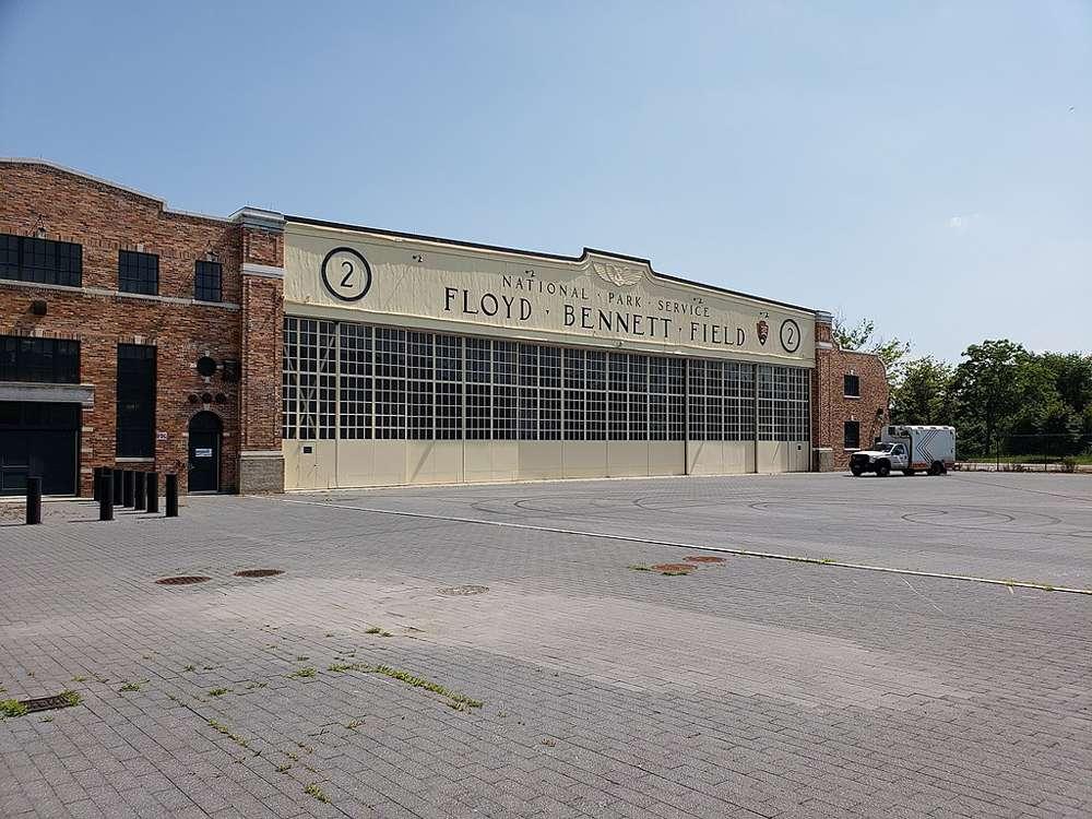 Hangar Two at Floyd Bennet Airfield in Brooklyn