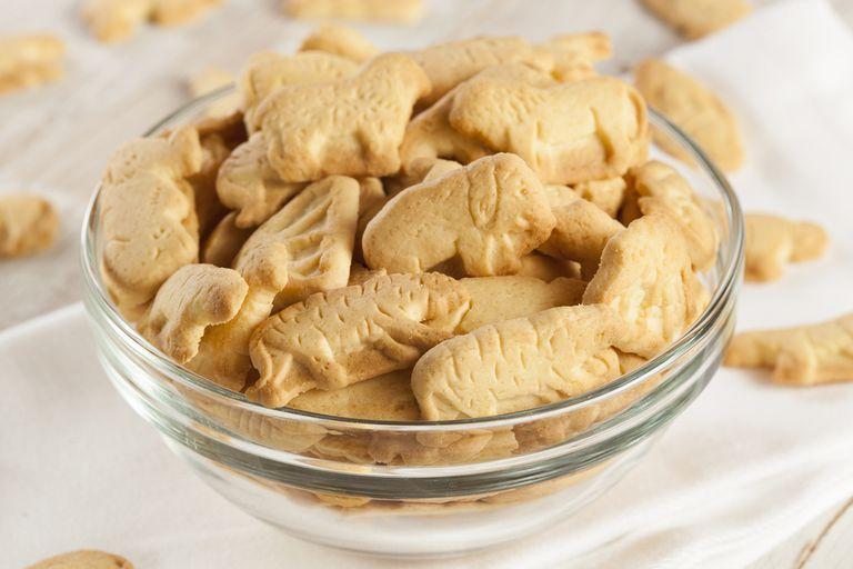 ¿De dónde vienen las galletas de animales?