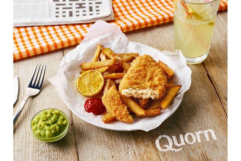 Quorn lanza alternativa de pescado vegano
