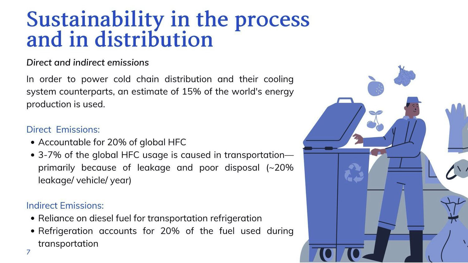 cold chain distribution sustainability