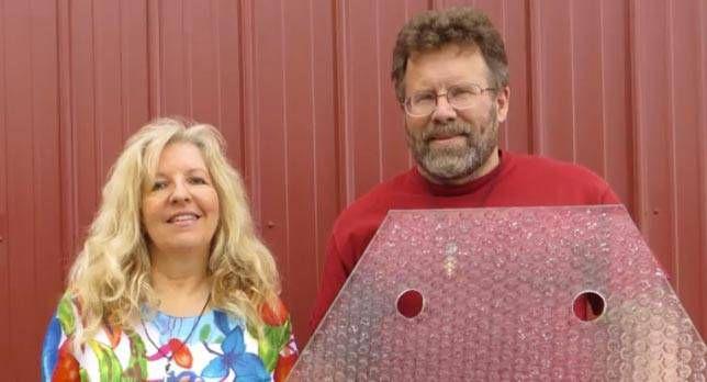 Scott and Julie Brusaw of Solar Roadways