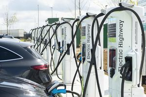 Electric Highway opens high power charging at Rugby services