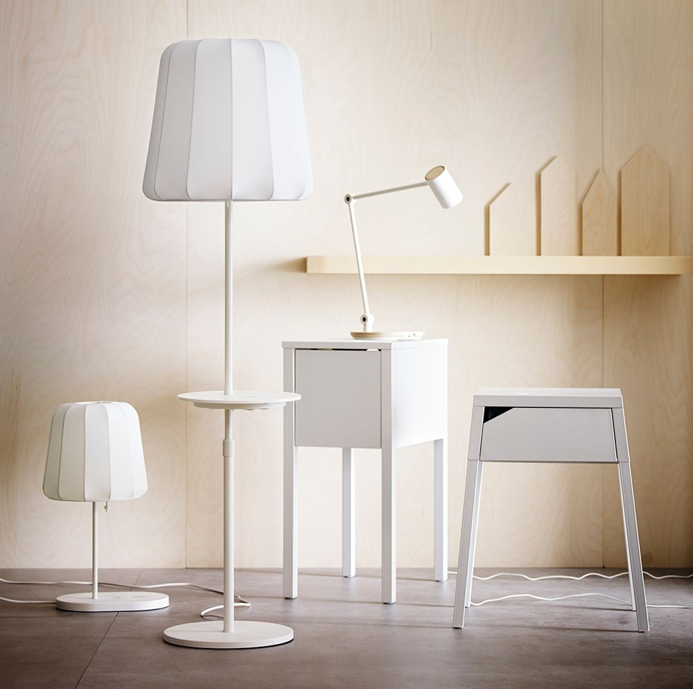 IKEA furniture with chargers built in