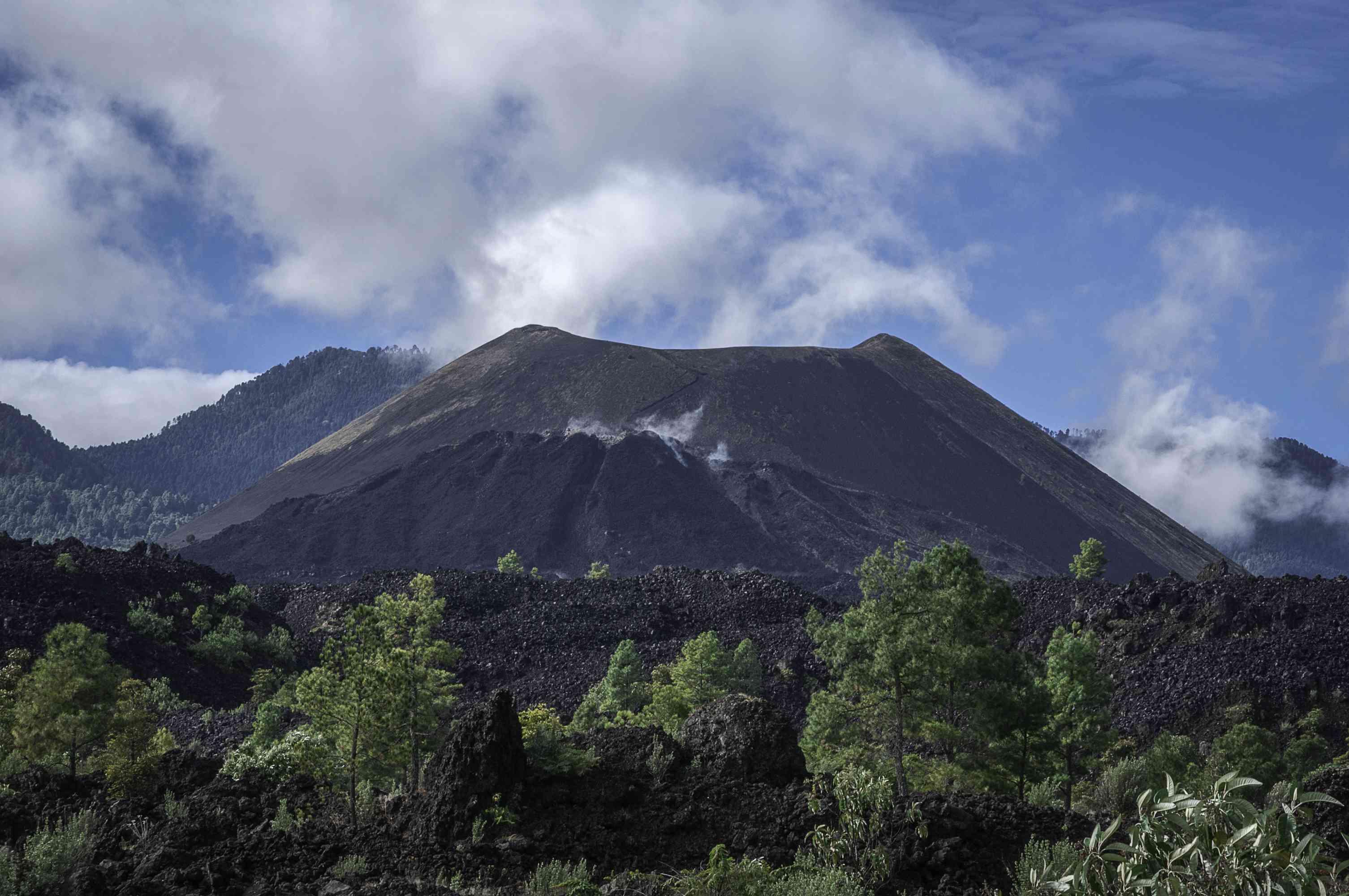 Paricutin Volcano in Mexico