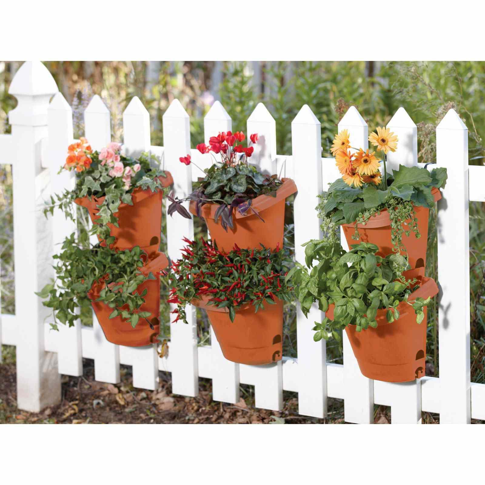 Bloem, Terra Cotta Hanging Garden Planter System