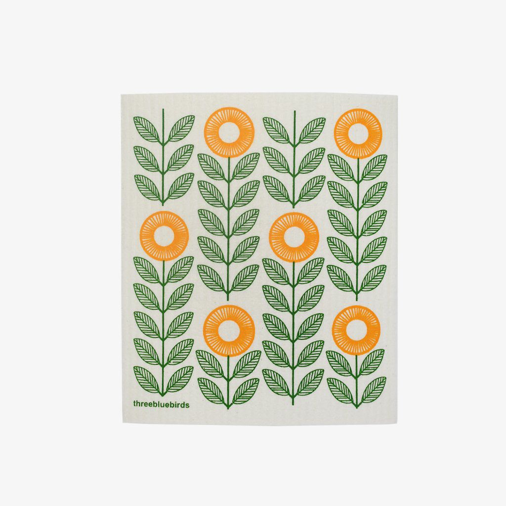 Sunflower Reusable Swedish Dishcloth