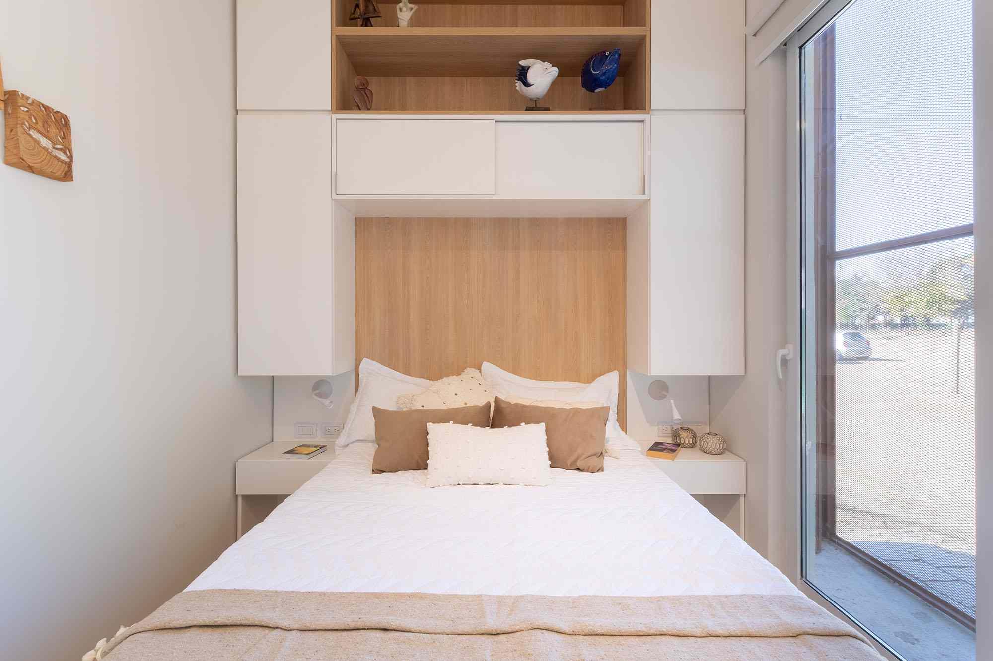 Hüga prefabricated house by Grandio master bedroom