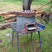Rocket stove example