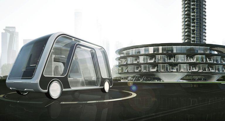 ¿Por qué los vehículos autónomos deberían parecerse a los coches? ¿Por qué no las habitaciones de hotel?