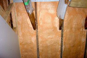 Close-up image of insulation