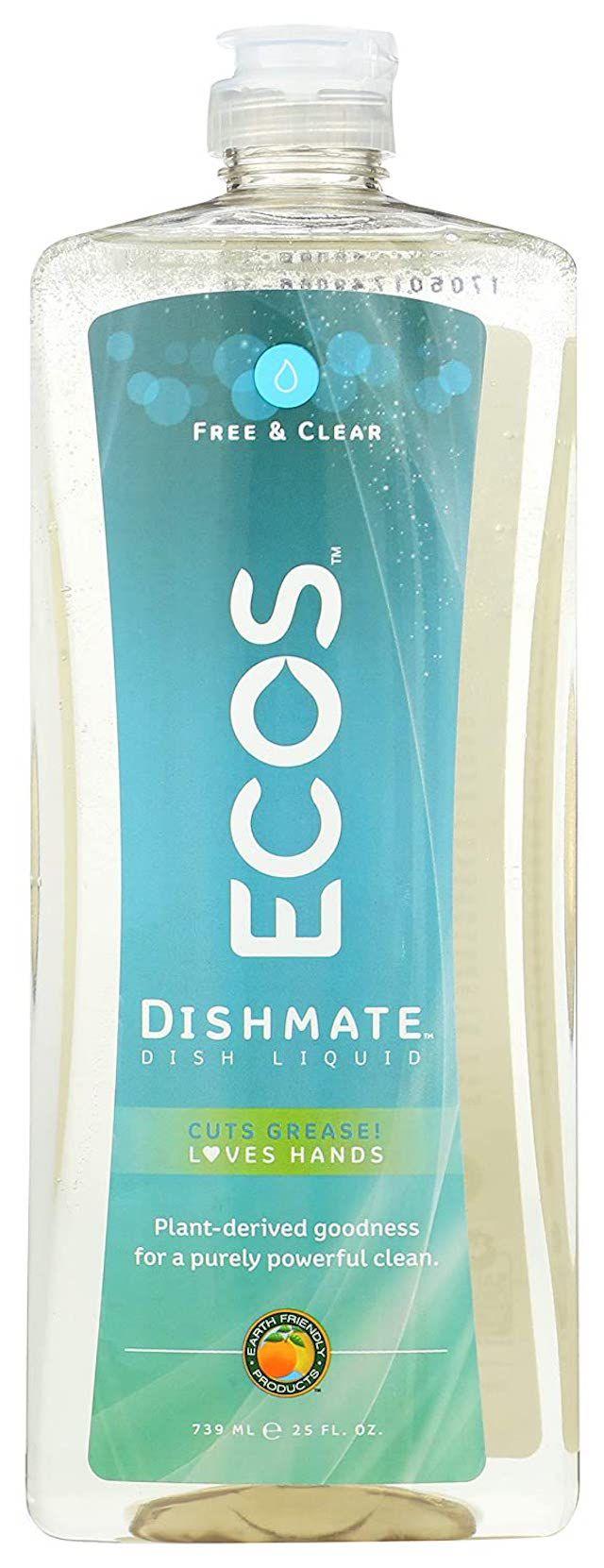 ECOS Dishmate Dish Soap Free & Clear